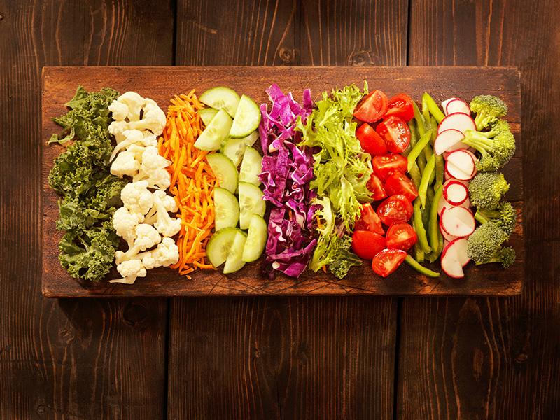 IV gamma: semilavorati di ortofrutta e verdura
